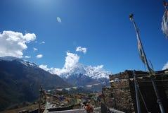 όψη του Νεπάλ annapurna Στοκ Φωτογραφία