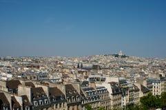 όψη του Παρισιού πόλεων Στοκ Εικόνες