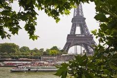 Όψη του πύργου του Άιφελ στο Παρίσι στοκ φωτογραφία με δικαίωμα ελεύθερης χρήσης