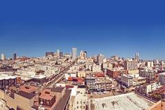 Όψη του Σαν Φρανσίσκο, ΗΠΑ Στοκ Φωτογραφίες