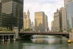 όψη του Σικάγου Στοκ Φωτογραφίες