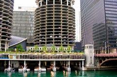 όψη του Σικάγου Στοκ Φωτογραφία