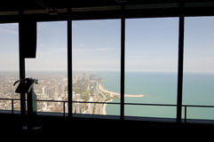 όψη του Σικάγου Στοκ εικόνα με δικαίωμα ελεύθερης χρήσης
