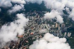 όψη του Χογκ Κογκ πόλεων Στοκ φωτογραφία με δικαίωμα ελεύθερης χρήσης
