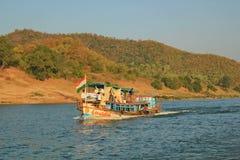 Όψη του godavari papikondalu και ποταμών, Ινδία Στοκ φωτογραφία με δικαίωμα ελεύθερης χρήσης