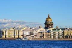 Όψη του ST καθεδρικός ναός της Πετρούπολης, ST Isaac Στοκ Εικόνες