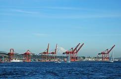 όψη φόρτωσης αποβαθρών Στοκ φωτογραφία με δικαίωμα ελεύθερης χρήσης
