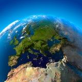 όψη ύψους της Ευρώπης Στοκ φωτογραφία με δικαίωμα ελεύθερης χρήσης
