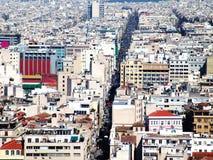 όψη 14 Αθήνα Στοκ Εικόνα