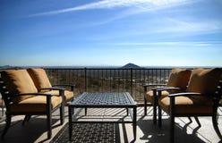 όψη patio ερήμων της Αριζόνα Στοκ Εικόνες