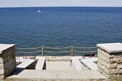 όψη patio Στοκ εικόνα με δικαίωμα ελεύθερης χρήσης