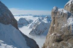 όψη rocca punta marmolada Στοκ εικόνα με δικαίωμα ελεύθερης χρήσης