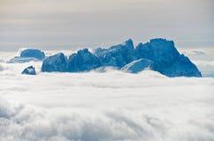 όψη rocca punta marmolada Στοκ Φωτογραφία