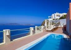 Όψη Santorini - Ελλάδα Στοκ Φωτογραφία