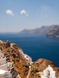 Όψη Santorini Στοκ Εικόνες