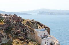 Όψη Santorini Στοκ εικόνα με δικαίωμα ελεύθερης χρήσης