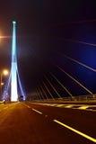όψη stonecutters νύχτας γεφυρών στοκ εικόνες