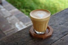 Όψιμος καφές τέχνης Στοκ Εικόνες