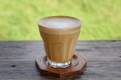 Όψιμος καφές τέχνης Στοκ φωτογραφίες με δικαίωμα ελεύθερης χρήσης