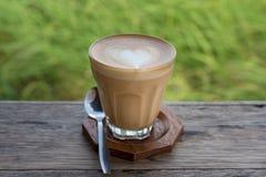 Όψιμος καφές τέχνης Στοκ εικόνα με δικαίωμα ελεύθερης χρήσης