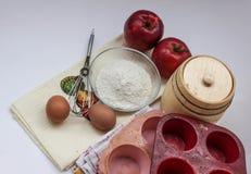Όλα για την πίτα μήλων στοκ φωτογραφία με δικαίωμα ελεύθερης χρήσης