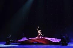 όλα τα διάσημα αστέρια που σύρουν έναν κύκλο των θαυμαστών γύρω από τον ή την της-Ινδία ο μνήμη-παγκόσμιος χορός της Αυστρίας Στοκ Εικόνες