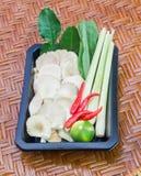Όλα τα ingredents Tom-Yum Koong (Τρόφιμα Ταϊλανδού) Στοκ φωτογραφία με δικαίωμα ελεύθερης χρήσης