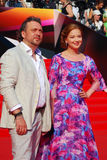 Όλγα Budina στο φεστιβάλ ταινιών της Μόσχας Στοκ Φωτογραφία