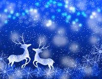 όλες οι οποιεσδήποτε μεμονωμένες συστάσεις μεγέθους κλίμακας αντικειμένων απεικόνισης στοιχείων ελαφιών Χριστουγέννων στο διάνυσμ Στοκ φωτογραφία με δικαίωμα ελεύθερης χρήσης