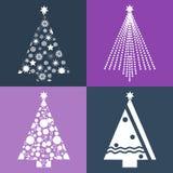 όλες οι οποιεσδήποτε μεμονωμένες συστάσεις μεγέθους κλίμακας αντικειμένων απεικόνισης στοιχείων σχεδίου Χριστουγέννων στο διάνυσμ Στοκ εικόνες με δικαίωμα ελεύθερης χρήσης