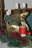 όλες οι οποιεσδήποτε μεμονωμένες συστάσεις μεγέθους κλίμακας αντικειμένων απεικόνισης στοιχείων ελαφιών Χριστουγέννων στο διάνυσμ Στοκ εικόνα με δικαίωμα ελεύθερης χρήσης