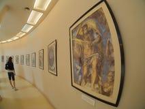 όλη η τέχνη φιλτράρισε το σύνολο τοίχων εικόνων φωτογραφιών στοών ακριβώς Στοκ Εικόνες