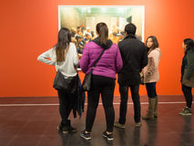 όλη η τέχνη φιλτράρισε το σύνολο τοίχων εικόνων φωτογραφιών στοών ακριβώς Στοκ Φωτογραφίες