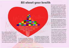 Όλοι για την υγεία σας απεικόνιση αποθεμάτων