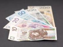 Όλοι γυαλίζουν τα τραπεζογραμμάτια Στοκ Φωτογραφίες