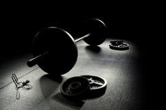 Όλος ο σκοτεινός ολυμπιακός φραγμός Στοκ Φωτογραφία