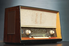 όλο το απομονωμένο ραδιόφωνο λογότυπων αφαίρεσε το εκλεκτής ποιότητας λευκό Στοκ Φωτογραφία