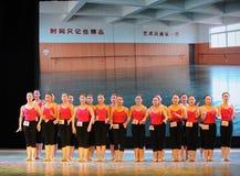 Όλο το σπουδαστής-βασικό εκπαιδευτικό μάθημα χορού Στοκ εικόνες με δικαίωμα ελεύθερης χρήσης