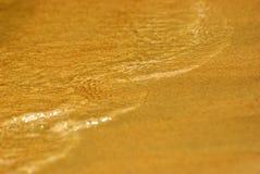 ύδωρ άμμου Στοκ Φωτογραφίες