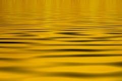 ύδωρ ανασκόπησης κίτρινο Στοκ Εικόνες