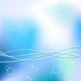 ύδωρ ανασκόπησης διανυσματική απεικόνιση