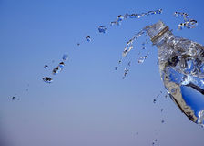 ύδωρ απελευθερώσεων στοκ φωτογραφία με δικαίωμα ελεύθερης χρήσης