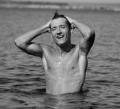 ύδωρ ατόμων Στοκ εικόνες με δικαίωμα ελεύθερης χρήσης