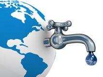 ύδωρ γήινων αποθεμάτων Στοκ Εικόνες