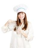 ύδωρ γυαλιού μαγείρων Στοκ Φωτογραφίες