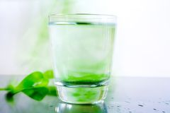 ύδωρ γυαλιού Στοκ Εικόνα