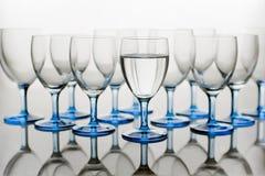 ύδωρ γυαλιών Στοκ Φωτογραφίες