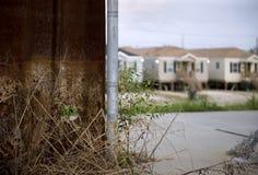 ύδωρ επιπέδων ν της Katrina τυφώνα Στοκ φωτογραφία με δικαίωμα ελεύθερης χρήσης
