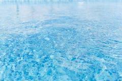 ύδωρ επιφάνειας Σύσταση του ύδατος μπλε ύδωρ λιμνών Στοκ Φωτογραφία