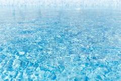 ύδωρ επιφάνειας Σύσταση του ύδατος μπλε ύδωρ λιμνών Στοκ εικόνα με δικαίωμα ελεύθερης χρήσης